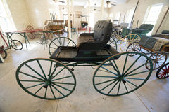 Old horse buggy Stock Photos
