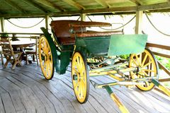 Old horse carriage Royalty Free Stock Photo