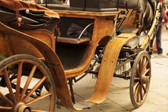 Old horse drawn carriage o Stock Image
