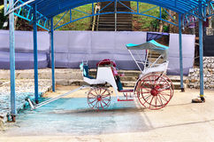 Old horse-drawn carriage Stock Image
