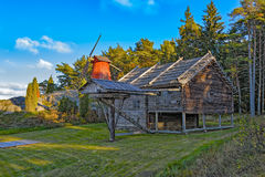 Old horse drawn mill Stock Photography