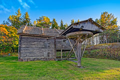 Old horse drawn mill Royalty Free Stock Photos
