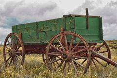Old Horse Drawn Wagon Stock Images