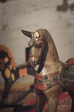 Old horse-rocking chair Royalty Free Stock Image
