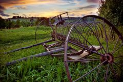 Free Old Horse S Rake Stock Photo - 6190270