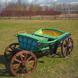 Old horse wagon Stock Images