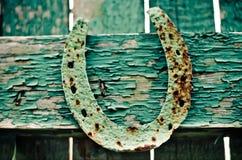 Old horseshoe Stock Image