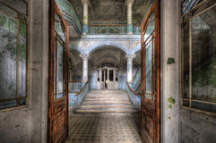 Old hospital in Beelitz Royalty Free Stock Photo