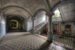 Old hospital in Beelitz Stock Image