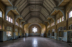 Old hospital in Beelitz Royalty Free Stock Photography