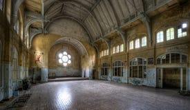 Old hospital in Beelitz Stock Photo