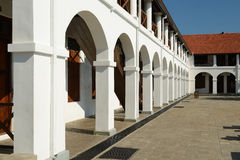Old hospital building in fort Galle, Sri Lanka Royalty Free Stock Photography