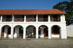 Old hospital building in fort Galle, Sri Lanka Royalty Free Stock Photos