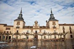 Old Hospital of Burgo de Osma Stock Photos