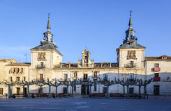 Old Hospital of Burgo de Osma Stock Image
