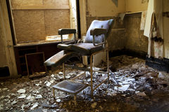 Old hospital chair Stock Photography
