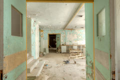 Old hospital Stock Photo