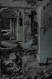 Old hospital ruins Royalty Free Stock Photos