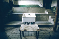 Old Hospital Sink Stock Image
