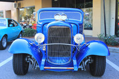 Old hot-rod Car. The old hot-rod car at the show Royalty Free Stock Images