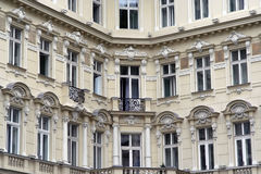 Old Hotel. Building.  facade Royalty Free Stock Image