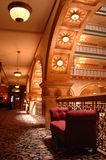 Old Hotel 8. Beautifully decorated historic old hotel Royalty Free Stock Photo