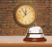 Old hotel bell Royalty Free Stock Photo
