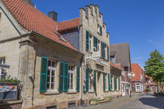 Old hotel in the center of Billerbeck Stock Images