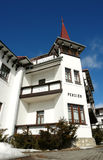 Old hotel in High Tatras. Stock Photography