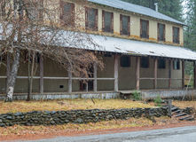 Old hotel in rural Northern California Royalty Free Stock Photography