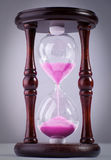 The old hourglass Royalty Free Stock Photo
