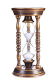 Old hourglass Royalty Free Stock Photo