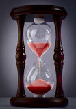 The old hourglass Royalty Free Stock Photos