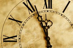 Old hours with texture royalty free stock photo