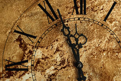 Old hours with texture Stock Images