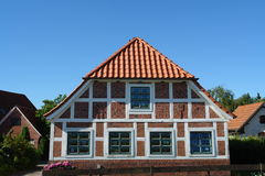 Old house. In Northern Germany stock photography