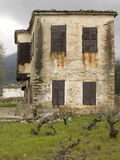 Old house. In small village Royalty Free Stock Image