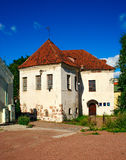 Old House. The old medieval house on Water Street Gate. Vyborg, Russia Royalty Free Stock Photos