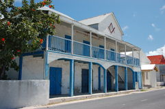 Old house. In Grand Turk, Turks and Caicos Islands Stock Image