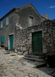 Old house. Captured in Betina - Croatia during August 2006 Royalty Free Stock Photos