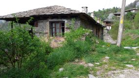 Old house. In Kovatchevitsa Bulgaria royalty free stock photos