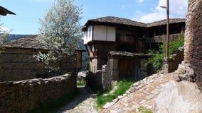 Old house. In Kovatchevitsa Bulgaria royalty free stock photo