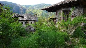 Old house. In Kovatchevitsa Bulgaria Stock Photography