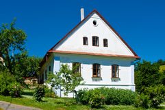 Old house. A old popular architecture in the Czech republic Royalty Free Stock Image
