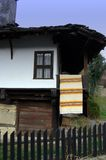 Old house. Old Bulgarian house-19 century Stock Photos