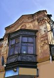 The old house. The old house of  city architecture of 19 centuries Stock Image