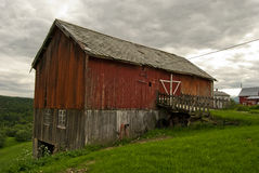 Old house in Norway. Old house on a norwaigian farm Royalty Free Stock Photo