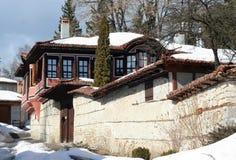 Old house. In Koprivshtica Bulgaria stock image
