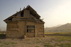 Old house. In the valley Stock Photography