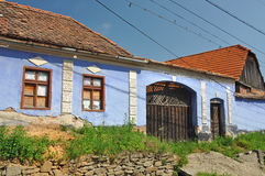 Old house. Marginimea Sibiului is a beautiful ethnographic area in Romania situated west of Sibiu, limited in the southern part by Sadu valley and north by Stock Photos